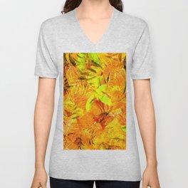 Autumn Foliage Unisex V-Neck