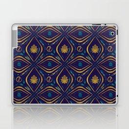 Lotus and OM symbol Luxury Pattern Laptop & iPad Skin