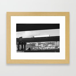 Southwest Portland  Framed Art Print
