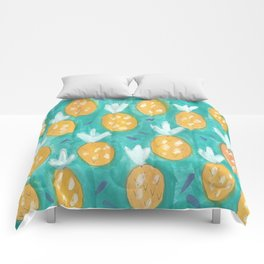 Fresh Pineapples Comforters