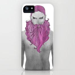 BEARD MALCOLM iPhone Case