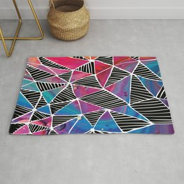 Stained Glass Pattern Rug