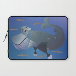 Wc of Whale Laptop Sleeve