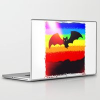 bat Laptop & iPad Skins featuring Bat by wingnang