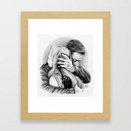Daddy Charming Framed Art Print