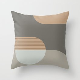 Abstract Composition 14 Throw Pillow