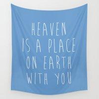 heaven Wall Tapestries featuring Heaven by Jeremy Jon Myers