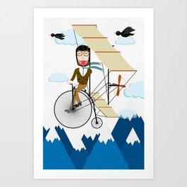 Flying Adventure Art Print