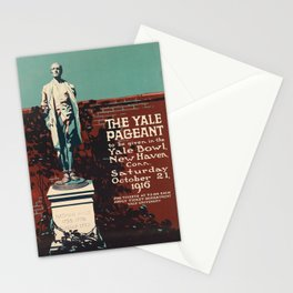 plakater the yale pageant. 1916 Stationery Cards