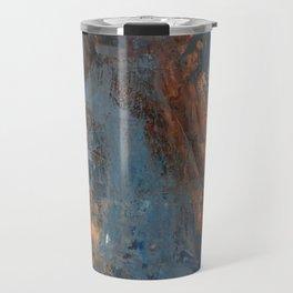 Human and Blue Travel Mug