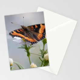 Butterfly By The Channel Stationery Cards