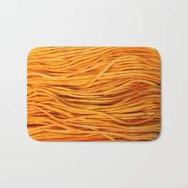 Worsted Yarn Bath Mat