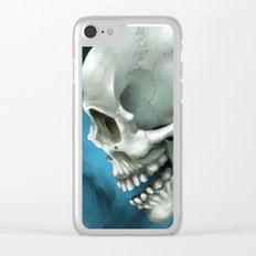 Skull 3 Clear iPhone Case
