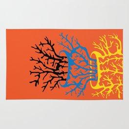 matisse coral Rug
