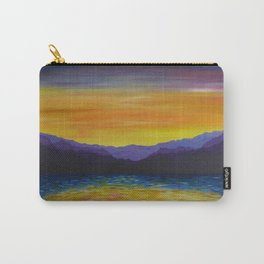 Evening Purple Carry-All Pouch