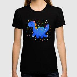 Fantasy Cute Dino Brontosaurus T-shirt