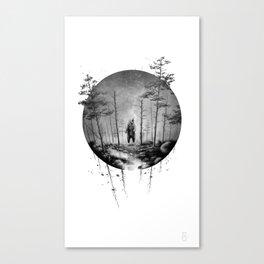 Ursa Major (dawn) Canvas Print