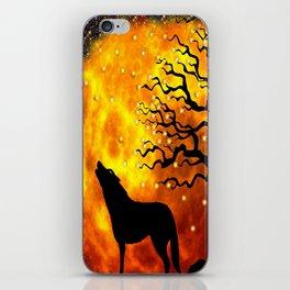 WOLF ENCOUNTER #1 iPhone Skin