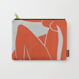 Blue Nude in Orange - Henri Matisse Carry-All Pouch