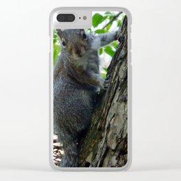Squeak a Boo Clear iPhone Case