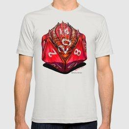 D20 Dragon Dice gaming art T-shirt