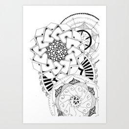 Mandala Series 04 Art Print