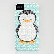 Penguin Dotz iPhone (4, 4s) Slim Case