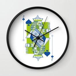 Delirium Jack of Spades Wall Clock