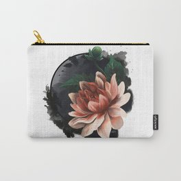 Ink and flowers Carry-All Pouch