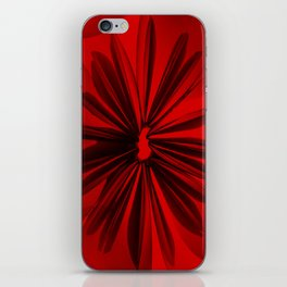 Red Origami Flowers #decor #society6 iPhone Skin