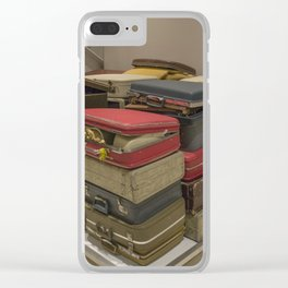 Going Away Clear iPhone Case