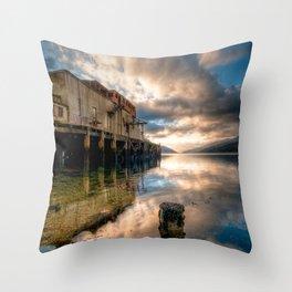 Loch Long Torpedo Testing Station Throw Pillow