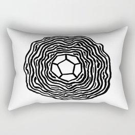 The d12 Rectangular Pillow