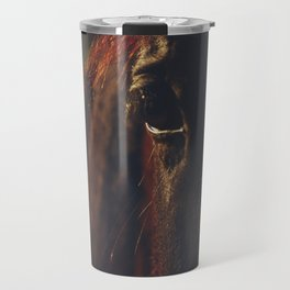 Horse photography, high quality, nature landscape fine art print Travel Mug