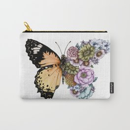 Butterfly in Bloom II Carry-All Pouch