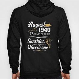 August 1940 Sunshine mixed Hurricane Hoody