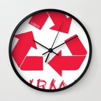 karma Wall Clocks featuring KARMA by ARTITECTURE