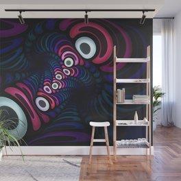 Octo Pie. Abstract Digital Art Wall Mural