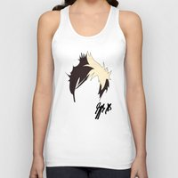 jack Tank Tops featuring Jack by bananadeaf