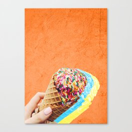 rainbow sprinkles always Canvas Print