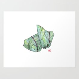 Zongzi Art Print