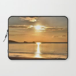 Thatcher Rock Sunrise Laptop Sleeve