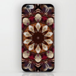 The beet mandala (the beauty of vegetables!) 708 iPhone Skin