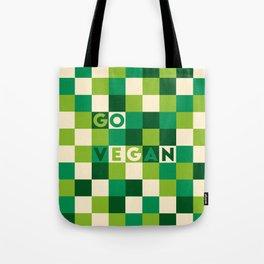 Go vegan (green life) Tote Bag