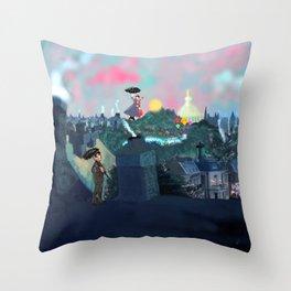 Magical Skies Throw Pillow
