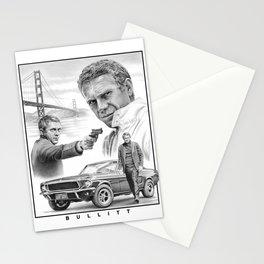 Steve McQueen Bullitt Stationery Cards