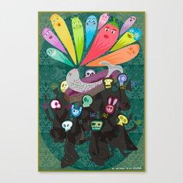 El entierro de la sardina Canvas Print