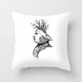 Genius Loci Throw Pillow