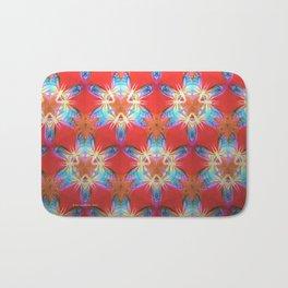 Nine-Pointed Star Flower: Perfection Bath Mat