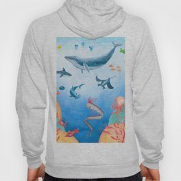 Message from the deep sea Hoody